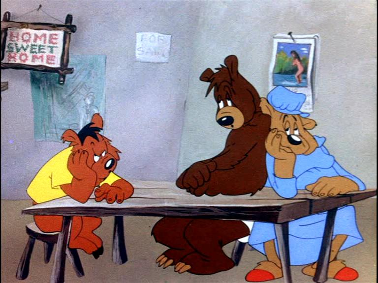 Bugs bunny and the three bears 1944 ciakhollywood