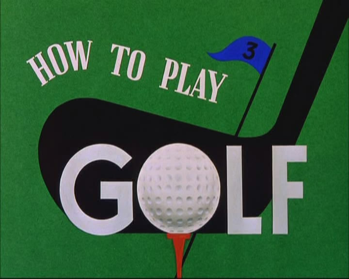 How to play golf ciakhollywood